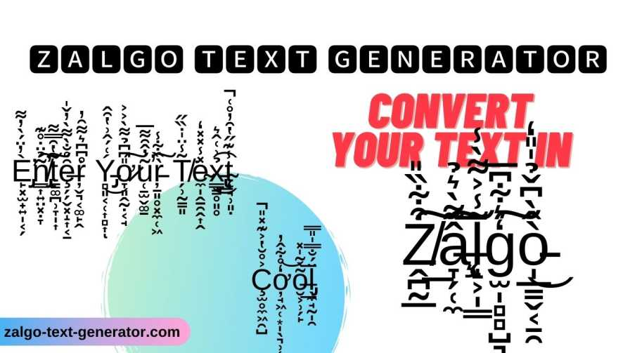 Zalgo Text Generator C O N Ve R T Your ƭsxƭ In Z A L G O